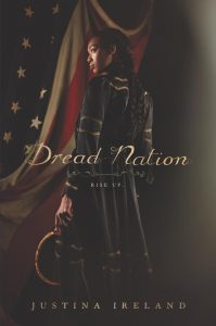 Book cover for YA dystopian novel, Dread Nation by Justina Ireland