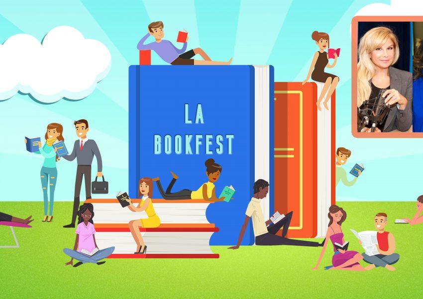 KJ Matthews and Deborah Kobylt LA BookFest