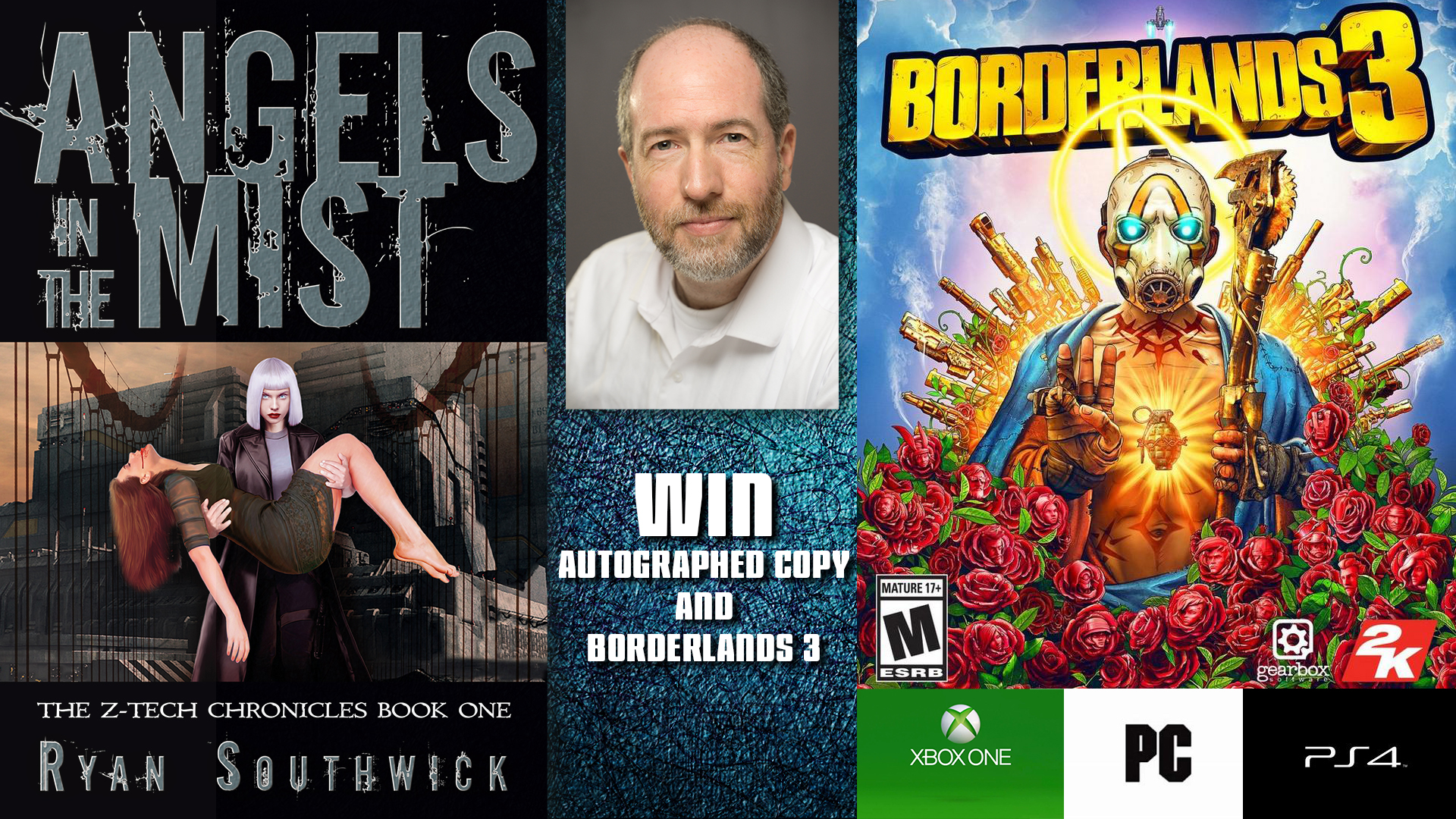 Ryan-Southwick-book-and-borderlands 3-giveaway