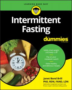 Book cover of Intermittent Fasting for Dummies