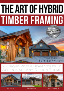 Book cover image of The Art of Hybrid Timber Framing