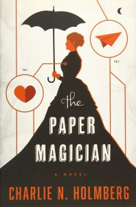Book cover - The Paper Magician