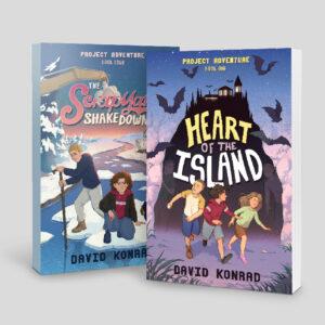 book covers of books by David Konrad