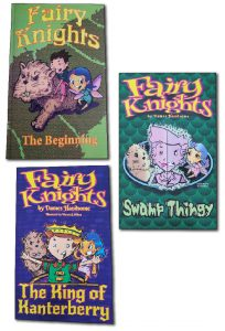 Fairy Knights book series cover images